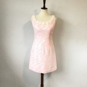 Lilly Pulitzer Nina Dress Pink Pretty Lurex Boucle